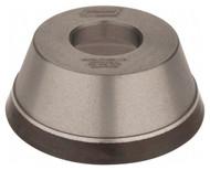 "Norton Diamond Cup Wheel, Type 11V9, 3-3/4"" Diameter, 1-1/4"" Hole Size, 1-1/2"" Thickness, 180 Grit, Very Fine Grade, 1/8"" Superabrasive Depth - 36046142"