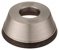 """Norton CBN Cup Wheel for Steel, Type 11V9 Tool & Cutter Grinding Wheel, 3-3/4"""" Diameter, 1-1/4"""" Hole Size, 1-1/2"""" Thickness, 120 Grit, Fine Grade - 36046280"""
