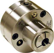 Bison 5C Collet Chuck Steel Body, 4in Plain Back - 862-0401