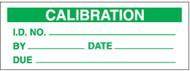SPI Clear Cover Calibration Labels