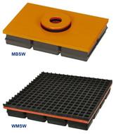 Mason Neoprene & Steel Vibration Isolation Pads