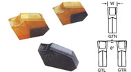 Precise Cut-Off & Grooving Carbide Inserts