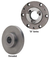 Interstate Chuck Adapters for 3-Jaw Self-Centering Plain Back Chucks