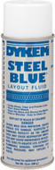 Dykem 12 OZ Steel Blue Layout Fluid Aerosol - 96-681-2