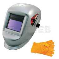 Astro Pneumatic Auto-Darkening Welding Helmet w/ Bigger Observation Window - AST8077SE