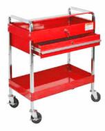 SUNEX Service Cart with Locking Top and Locking Drawer