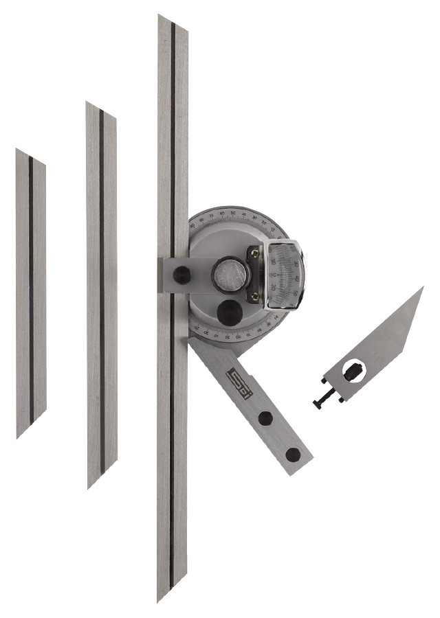 SPI Protractor Accessories; Type Height Gage Attachment Clamp; For Use With:...