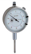 """Economy Dial Indicator, AGD Group 2, Range 1.00"""", White Dial Face - 51-485-1"""