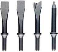 JET 4-Piece Chisel Set for Air Hammers - JSG-1304