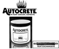 Flexbar Autocrete, 1 lb jar Hi-Temp Ceramic Adhesive - 15030