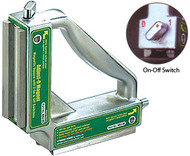 "Strong Hand ADJUST-O 90º Dual Switches ON/OFF Magnet, 7-3/4"" x 7-3/4"" x 1-7/8"" - MS2-90"