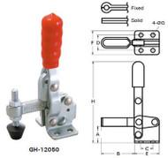 Good Hand Vertical Handle Toggle Clamp, Holding Capacity: 500 lbs | Bar: U - GH-12132