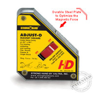 Strong Hand ADJUST-O MAGNET SQUARE, Heavy Duty
