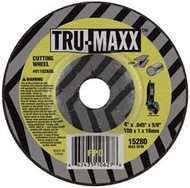 TRU-MAXX Cut-Off Wheels for Right Angle Grinders, Dia: 4-1/2"