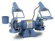 Baldor Industrial Grinder, 7 Inch, Deluxe Model, 1/2 HP, 1800 RPM, 1-Phase, 115/230V - 7306D