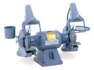 Baldor Industrial Grinder, 8 Inch, Deluxe Model, 3/4 HP, 1800 RPM, 3-Phase, 208-230/460V - 8102WD