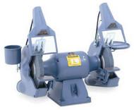 Baldor Industrial Grinder, 10 Inch, Deluxe Model, 1-1/2 HP, 1800 RPM, 3-Phase, 208-230/460V - 1021WD