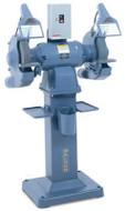 Baldor Industrial Grinder, 12 Inch, 2 HP, 1800 RPM, 3-Phase, 208-230/460V - 1215W