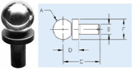 TE-CO Precision Slip Fit Shoulder Balls - 10853-1