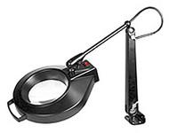 "Dazor Iron Man Machine Clamp Magnifier, 3-diopter (5""), Black - 1420E-BK"