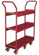 Wesco Narrow Aisle Shelf Cart