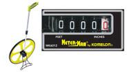 """Komelon 19"""" Meter Man Measuring Wheel - MK6012"""