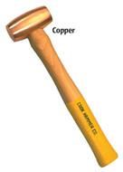 COOK Non-Sparking Hammer, Copper, 1/2 lb. - 96-741-4