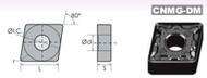 Precise CNMG/DM BLACK DIAMOND COATED CARBIDE INSERTS