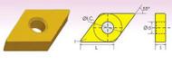 DNMA 55° DIAMOND NEGATIVE RAKE CARBIDE INSERTS