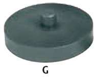 Support Screw Jack Pad, Style G - 97-966-6