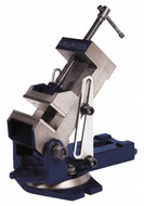 """Gibraltar Industrial Angle Vise, 4"""" Jaw Width - 76-581-8"""