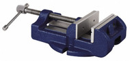 """Gibraltar Stationary Machine Vise, 4"""" Jaw Width, 4"""" Opening - 76-516-4"""