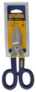 "IRWIN Tinner's Snips, Straight Pattern #22007, 7"" OAL, 1-1/2"" Length of Cut - 92-244-3"