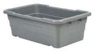 Polyethylene Tote Tub, Gray #TUB2516-8 GY - 91-902-7