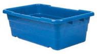 Polyethylene Tote Tub, Blue #TUB2516-8 BL - 91-901-9
