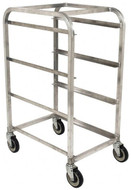 Mobile Cart for Polyethylene Totes, 3 Tote Capacity #104264 - 91-899-5