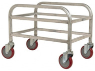 Mobile Cart for Polyethylene Totes, 1 Tote Capacity #104176 - 91-897-9