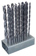 "Premium HSS 118° Point Long Boy Drills Set, 12"" (25 pcs.) - 49-212-4"