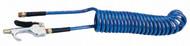 Coilhose Pneumatics Polyurethane Self-Storing Hose & Blow Gun Set 600-PU15B-B, 15 ft. - 62-513-7