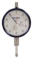"Teclock Dial Indicator, 0.500"" Range, 0-100 Reading - 26-305-3"