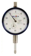 "Teclock Dial Indicator, 0.500"" Range, 0-50-0 Reading - 26-304-6"