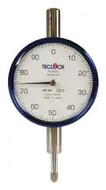 "Teclock Dial Indicator, 0.250"" Range, 0-100 Reading - 26-302-0"