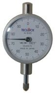 "Teclock Dial Indicator, 0.250"" Range, 0-100 Reading - 26-301-2"