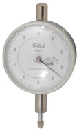 "Teclock Dial Indicator, 0.050"" Range, 0-10 Reading - 26-300-4"