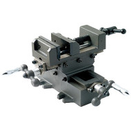 "2-Way Cross Slide Machine Vise Jaw Opening 5.80""  - GSS-106"