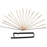 "Acro Laps Needle Lap Assortment, Model#TR-NE, 17 Sizes 0.032"" to 0.260"" - NLA-017"