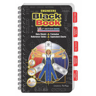 "Engineers Black Book 6-1/2"" x 4"" - 6830P"