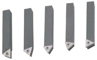 """Indexable Carbide Turning Tool, 5/8"""" x 5/8"""" Shank, Style E-10 - 82-275-9"""