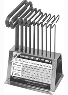 Eklind Long Reach T-Handle Hex Key Bench Sets