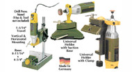 Proxxon Micromot Attachments for Drill Press & Holders